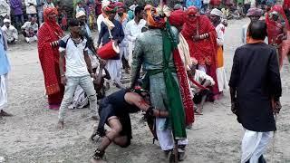 अमरपुरा( टीडी)गवरी नृत्य कलाकार कालु लाल खराड़ी