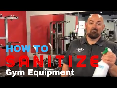 How To Sanitize Gym Equipment, The Right Way W/ Mister Clean
