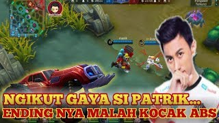Gambar cover JONSON ALA MAMIK GAMING KOCAK ABIS - mobile legends