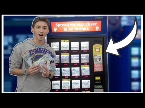 ★Lottery Ticket Machine GLITCH Gives Out FREE TICKETS!?!! Lo