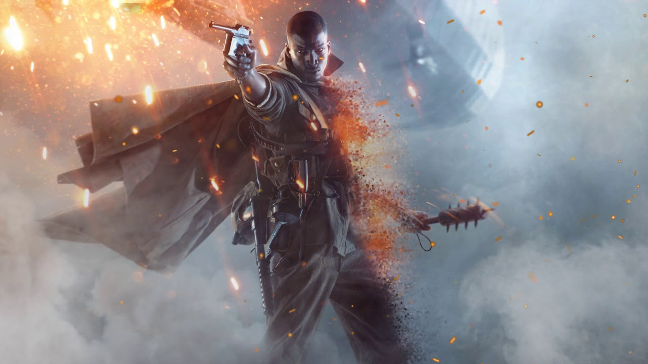 Battlefield 1 Animated Wallpaper Harlem Hell Fighter Youtube