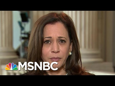 Sen. Harris: We Must Disband The 'Two Systems Of Justice In America'   Hallie Jackson   MSNBC