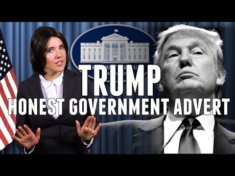 Honest Government Advert   President Trump