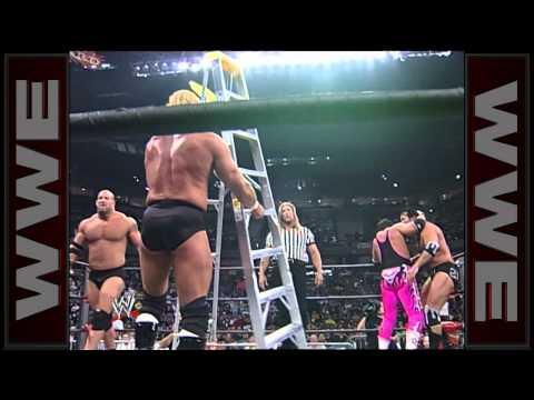 Bret Hart vs. Goldberg vs. Sid vs. Scott Hall - United States Championship Ladder Match: WCW Nitro, thumbnail