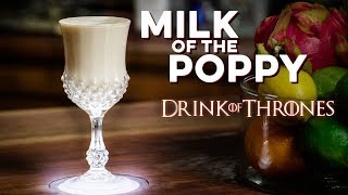 Milk Of The Poppy   How To Drink