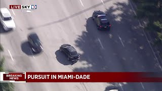 WATCH: Wild high-speed chase through South Florida highways and streets