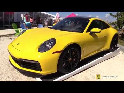 2020 Porsche 911 Carrera 4S 992 - Exterior Wakaround - 2019 Miami Boat Show