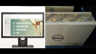 Dell E1916HV Monitor Unboxing