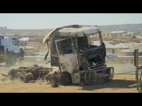 Supporters demand Zuma's release via fiery protests in KwaZulu-Natal