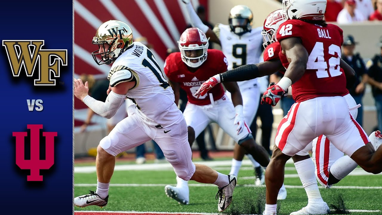 Download Wake Forest vs. Indiana Football Highlights (2016)