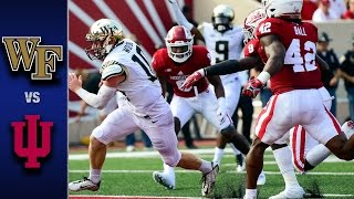 Wake Forest vs. Indiana Football Highlights (2016)