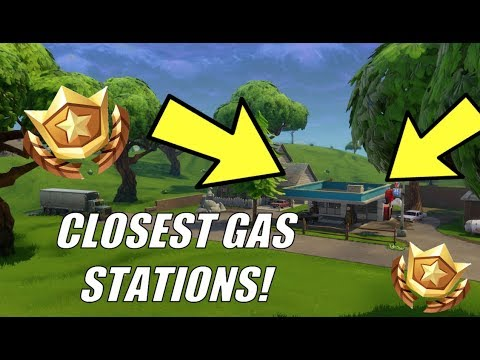 Fastest Way To Complete Fortnite Week 5 Visit Different Gas