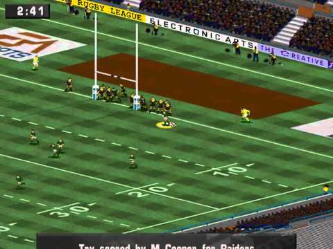 ARL 96 (a.k.a. Australian Rugby League) (The Creative Assembly) (MS-DOS) [1996]