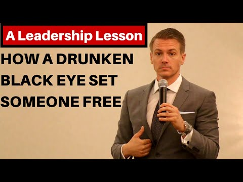 How a Drunken Black Eye Set Someone Free