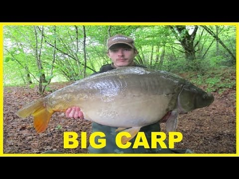 Carp Fishing In France Catching Big Fish At St Amand - Carp Video Series Part (1 Of 3)