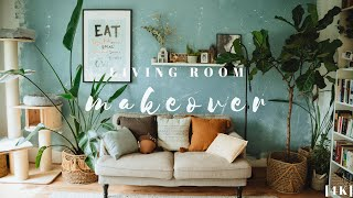 #1 DIY Small Living Room Spring Makeover on a Budget