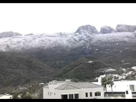 Sierra madre Monterrey  con viene
