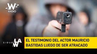 Las armas de fogueo también causan mucho daño: actor Mauricio Bastidas