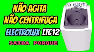Não Agita e Não Centrifuga   Electrolux LTC12