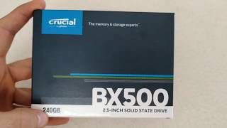 Crucial BX500 SSD İncelemesi 240 gb