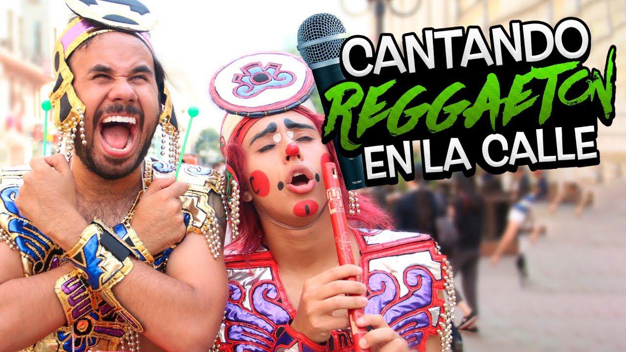 Aztecas Cantando Reggaeton en Rusia Ft. Werevertumorro | Lapizito |  Soy Fredy