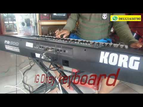 Dangdut jamaika cover song korg pa600