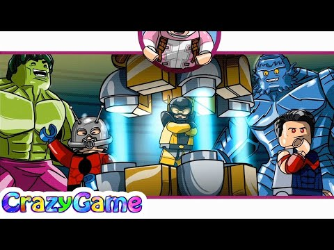 LEGO Marvel Super Heroes 2 100% Guide Gwenpool Mission #7 Hank Ger Management (Red She-Hulk)