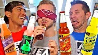 WEIRD SODA CHALLENGE!