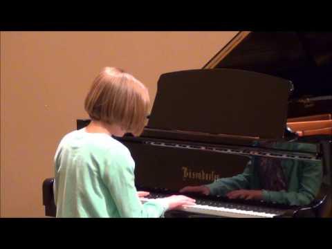 Sylvie Spring 2014 Piano Recital