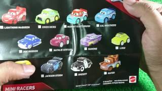 แกะซองของเล่นใหม่ MINI RACERS จากหนัง Cars3 พร้อมแนะนำวิธีเลือกรถ 7-11