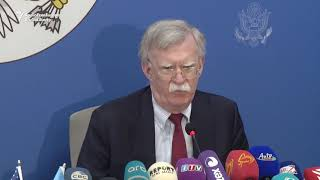 Bolton: Reassessment Pending For Russia Sanctions Over Attack On Skripals