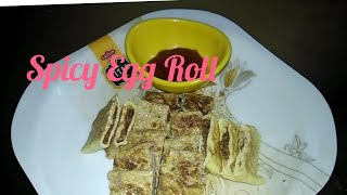 *Spicy  Egg  Roll  Recipe *