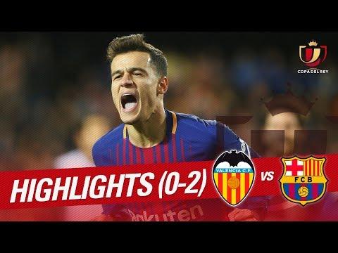 Resumen de Valencia CF vs FC Barcelona (0-2)
