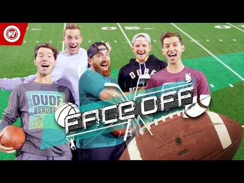 DUDE PERFECT Football Skills Edition | FACEOFF