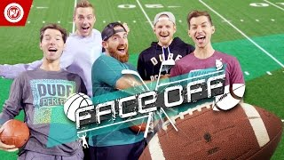 DUDE PERFECT Football Skills Edition | FACEOFF by : Whistle Sports