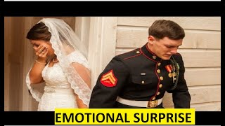 NEW 2020! Emotional Surprise Soldier Coming Home BEST COMPILATION