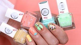 Маникюр в домашних условиях! Дизайн ногтей лето 2017