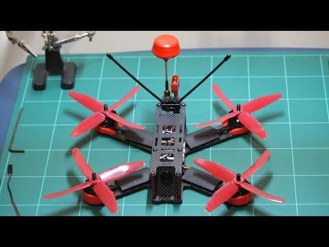 TUTORIAL - CARA MERAKIT DRONE / FPV RACING DRONE