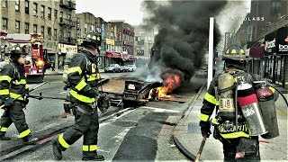 Trailer Fire Recorded Prior to FDNY Arrival