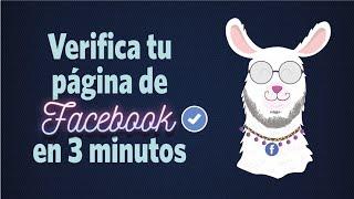 Cómo Verificar Mi Fanpage De Facebook 2020 Insignia Azul De Facebook Youtube