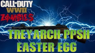How To Get The Classic PPSH (Treyarch) Easter Egg - Call of Duty: WWII Zombies