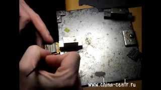 Урок - 8 Замена SIM коннектора на RugGear