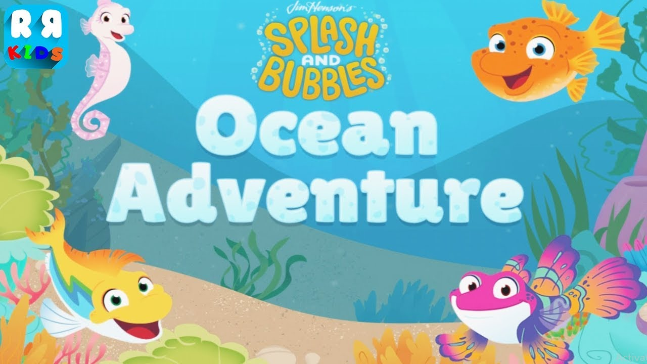 Splash And Bubbles Ocean Adventure By Pbs Kids New