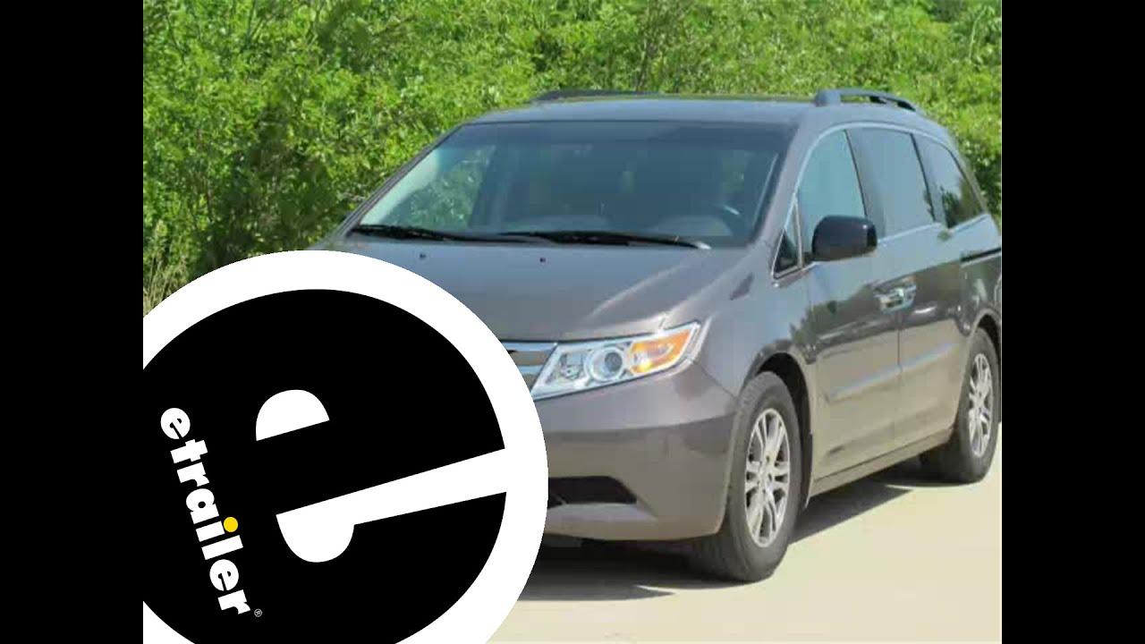 Floor mats odyssey - Review Of The Weathertech Front Floor Mats On A 2011 Honda Odyssey Etrailer Com
