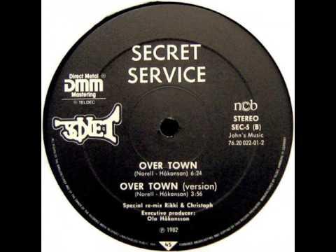 "Secret Service - Over Town (12"")"