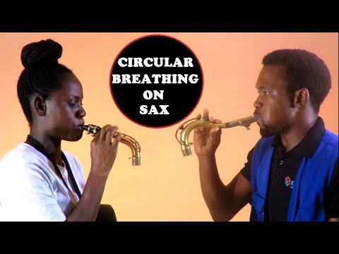 CIRCULAR BREATHING TECHNIQUE Made Easy on the SAXOPHONE