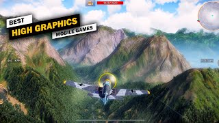 Top 10 Best High Graphics Games For Android & iOS! [Offline/Online] #P2
