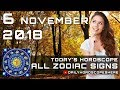 Daily Horoscope November 6, 2018 for 12 Zodiac Signs