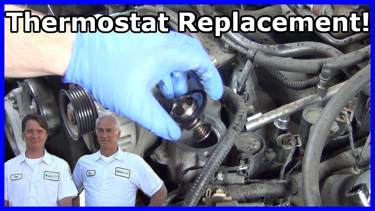 How To Replace Your Thermostat Ford Explorer 4 6l V8 2002