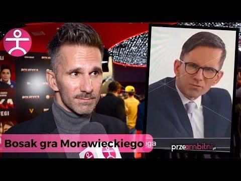 """Czy Mateusz Morawiecki ma poczucie humoru? Marcin Bosak o grze w """"Polityka"""" Patryka Vegi"""